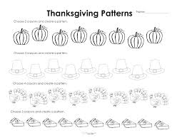 Thanksgiving Worksheets For Kindergarten Excel Free Third Grade ...