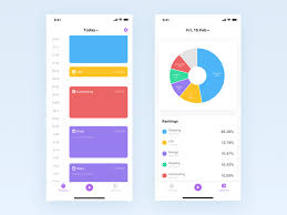Life Chart App Time Tracking By Xin Mu On Dribbble