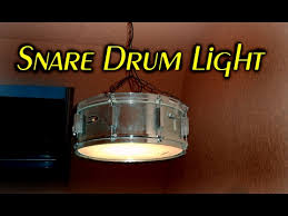 drum light fixture. Making A Snare Drum Light // How To Fixture