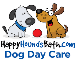 banner dog bath clipart facilities happy hounds a