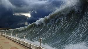 Resultado de imagen para imagen de tsunami en indonesia