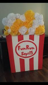 Decorative Popcorn Boxes Large Popcorn PropDecoration for a MovieThemed PartyEvent 16