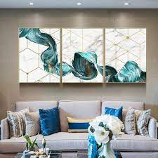 Prisma wall decor are versatile metal geometric shapes that can be hung from the ceiling, wall mounted, or displayed on any table surface. 3 Pieces Wall Art Abstract Green Tree Leaf Painting Print On Canvas Ready To Hang Framed Painting Print Set Of 3 Wall Art Home Decor 3 Piece Canvas Art Diy Canvas