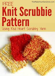 Red Heart Scrubby Pattern Gorgeous Knit Scrubbie Pattern Using Red Heart Scrubby Yarn Make Your Own