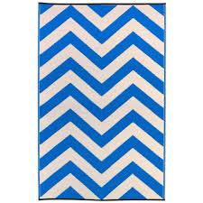 laa regatta blue white outdoor rug