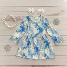 Rylee Faith Designs Frozen 2 Elsa Boutique Dress