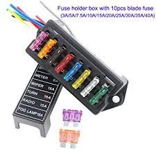 artgear 2 input 8 output car standard blade fuse holder amazon co artgear 2 input 8 output car standard blade fuse holder amazon co uk electronics