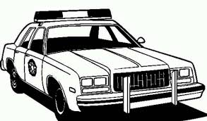 Printable 20 Free Printable Police Car Coloring Pages