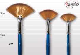 fan paint brush. image fan paint brush p