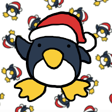 cute christmas penguin drawing. Delighful Christmas Step One Intended Cute Christmas Penguin Drawing E