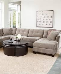 Macys Living Room Furniture Elliot Fabric Sectional Sofa Collection Sectionals Furniture