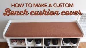 custom bench cushions. How To Make A Custom Bench Cushion Cover | Thousand Words Cushions