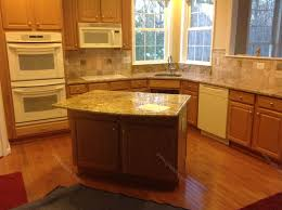 Tan Brown Granite Countertops Kitchen Tan Brown Granite Countertop With Backsplash Miserv