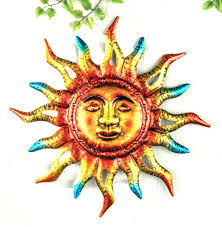 southwestern wall decor southwestern metal wall art southwest wall art metal outdoor wall decor sun blazing