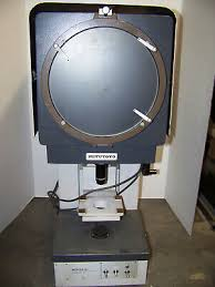 Mitutoyo Optical Comparator Overlay Charts Mitutoyo Manufacturing Co Pj 250 Profile Projector Optical