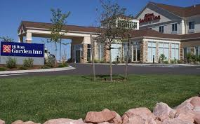 exterior hilton garden inn colorado springs airport