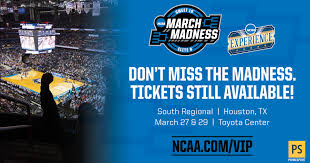 Ncaa Final Four Houston Seating Chart 2020 Ncaa March Madness South Regional Houston Toyota Center