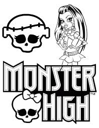 Small Picture Free Printable Monster High Coloring Pages H M Coloring Pages