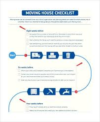 Moving Checklist Templates House Spreadsheet Home Excel Uk Sample