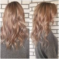 Hair Painted This Brunette Rose Gold