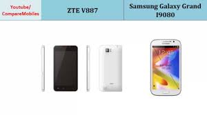 ZTE V887 Versus Samsung Galaxy Grand ...