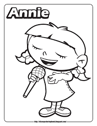 Small Picture Little Einsteins Annie Best Of Little Einsteins Coloring Pages