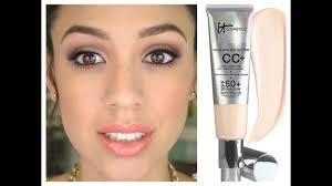 It Cosmetics Cc Cream Light Review It Cosmetics Cc Cream 1st Impressions Review