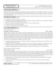 System Architect Sample Resume System Architect Resume Samples Pinterest Shalomhouseus 3