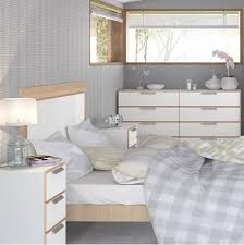 Bedroom Perfect Bedroom Furniture White And Oak In UK Interesting