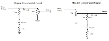 greasebucket tone control mods some links about the circuit