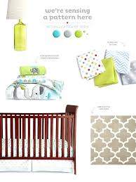 mini crib bedding target the trunks of love crib bedding set features cute elephants on parade