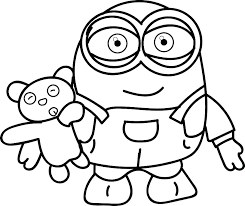 Minion Coloring Pages Minion Printable Coloring Pages Minion