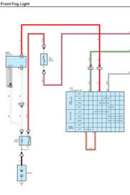 toyota 4runner independent use of fog light mod front fog light schematic