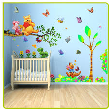babies wall art baby room painting ideas pooh them the pooh wall stickers animal tree for on baby room wall art painting with babies wall art baby room painting ideas pooh them the pooh wall