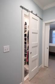 barn door on closet paperdaisydesign com