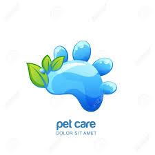 Shampoo Logo Design Vector Logo Emblem Label Design Elements For Pet Organic Care