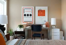 bedroom office design ideas. guest bedroom office awesome spare design ideas 5 view in gallery modern