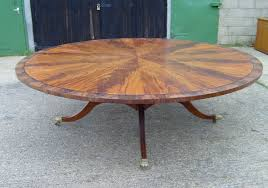 impressive large round dining table and antique round dining table kobe table