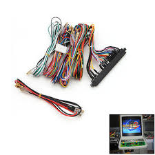 wiring harness cable replacement parts assemble for arcade jamma arcade jamma board machine wiring harness 60 in 1 harness arcade diy kit parts