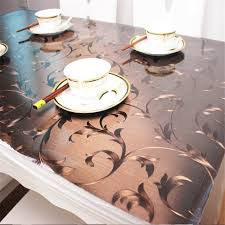 ostepdecor custom waterproof p v c protector for table desk table pads table