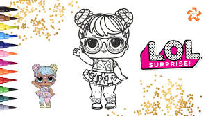 Lol Surprise Bon Bon Series 2 How To Color Baby Doll