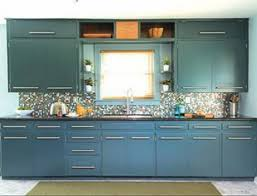 Chalk Paint Kitchen Cabinets Design Elegant Picture