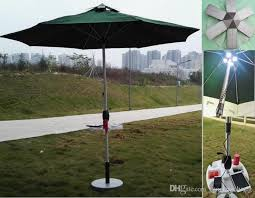 solar sun umbrella with solar panels charger for iphone ipad etc bar umbrella patio and beach umbrella chargable lh su101 by maqingchang
