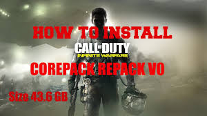 cod infinite warfare install size how to install call of duty infinite warfare corepack repack v0