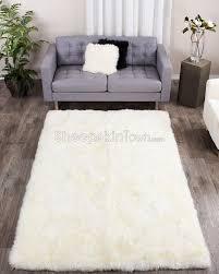 5 x 8 area rug wondrous 5x8 extra large ivory white sheepskin feet town