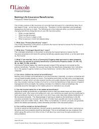 Most life insurance policies make it easy to change or update your beneficiary if you change your mind about who should get the death benefit, for example after a. Https Www Hcde Org Userfiles Servers Server 350194 File Staff Benefits Benefits 20plans Life 20insurance Faq S 20for 20naming 20beneficiaries Asp Pdf