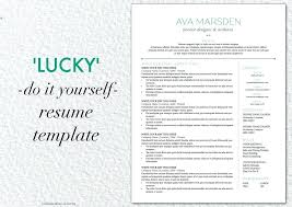Squarespace Resume Template Best of Lucky Resume Template With Cover Letter Reference Pages Squarespace