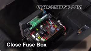interior fuse box location 2002 2009 gmc envoy 2006 gmc envoy 2005 Cadillac Escalade at 2005 Gmc Xuv Fuse Box