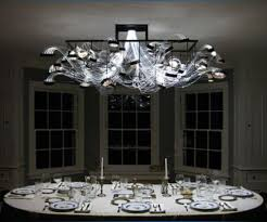 fiber optics chandelier