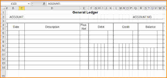 accounting ledger template 7 accounting ledgers templates ledger review